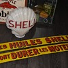 shell porcelain sign mystery