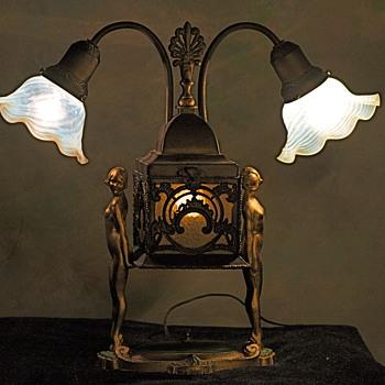 My Art Deco Lamp