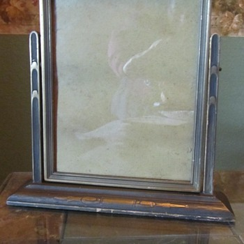 Old Swivel Picture Frame - Fine Art