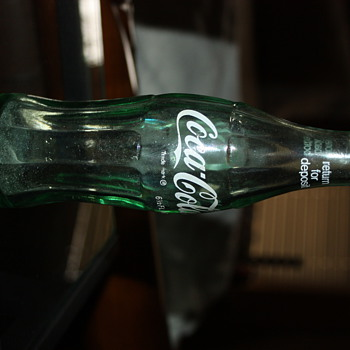 1960's coke bottle - Coca-Cola