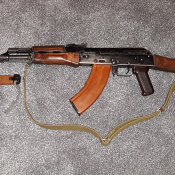 Germany during the cold war - Part 7 - Russian Made AK47 and Bayonet.  - Military and Wartime