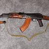 Germany during the cold war - Part 7 - Russian Made AK47 and Bayonet.