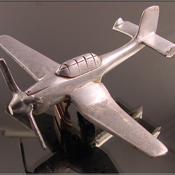 Trench Art WW11 Air Plane - Military and Wartime
