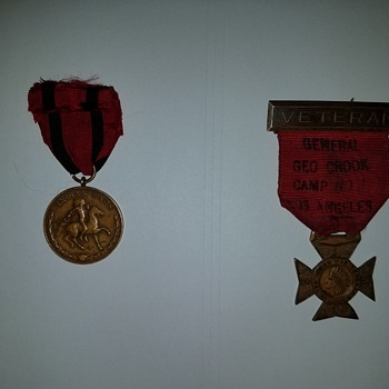 Mint issued indian war medal