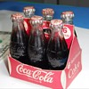 1950's Coca Cola miniature 6 pack!