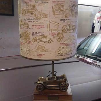 1963 Chevrolet dealer lamp - Advertising