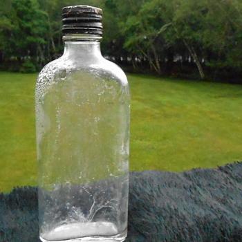 Vintage Liquor Bottle
