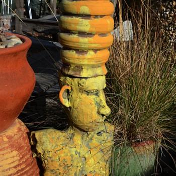 Interesting / funny garden sculpture by Susannah Israel - Fine Art