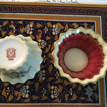 Sweet little Noritake dishes.  What are they used for?