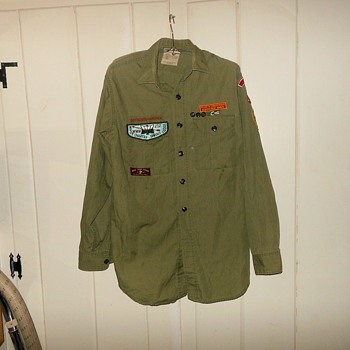 Vintage Boy Scout Shirt Early 1960s