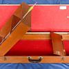 Vintage Wood Arrow Case, Mid-Century