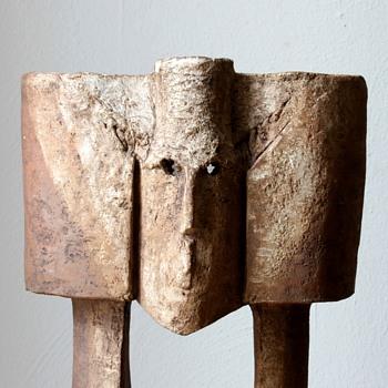 Sculptural pot - Pottery