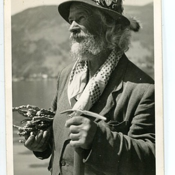 Austrian Man...late 1940s - Photographs