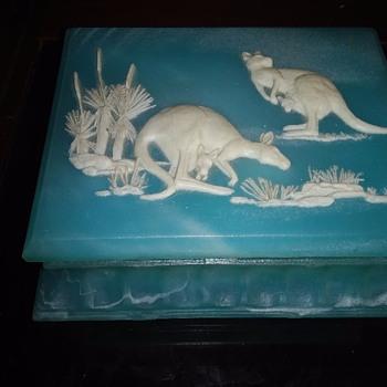 Soap Stone Jewelry Box Australian - Fine Jewelry
