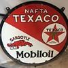 Mobil oil, gargoyle, and texaco