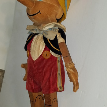 Possible Charlotte Clark Pinocchio prototype - Dolls
