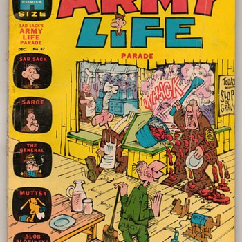 1971 - SAD SACK'S Army Life Comic Book - Comic Books