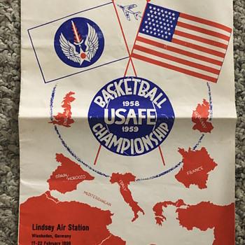 1958-1959 USAFE Basketball Championship - Basketball