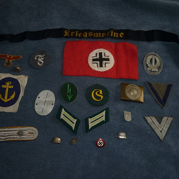 Allemande stuff for BlackWatch - Military and Wartime
