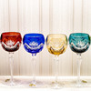 Bohemian crystal wine glasses Janette 190ml