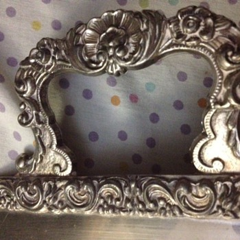 Trying to find the maker of an Antique Silver Footed Tray - Silver