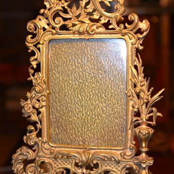 Gilded Brass Frame - Victorian / Eastlake / Aesthetic - Fine Art