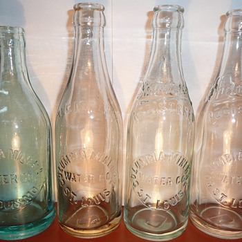 Columbia Mineral Water Co. - Bottles