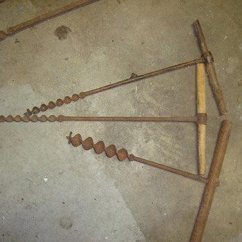 vintage augers  - Tools and Hardware