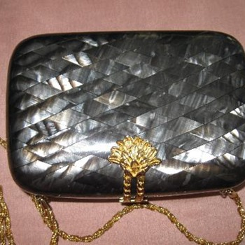 Walborg Lucite clutch purse
