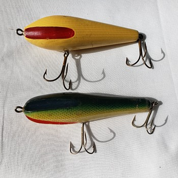 Hand Carved Wooden Lures - Fishing