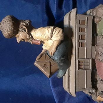 Tom Clark Woodspirits train series- P.S. - Figurines