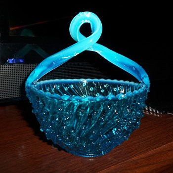 Jefferson Glass Co. May Basket #87 pattern Early 1900's - Glassware