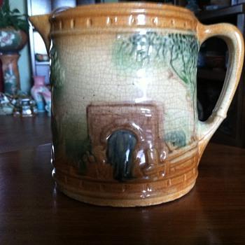 Roseville Milk Pitcher - The Bridge - Pottery