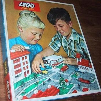 Lego Townplan set - Toys