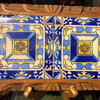 Mexican Tile Hot Plate Stand - Pottery