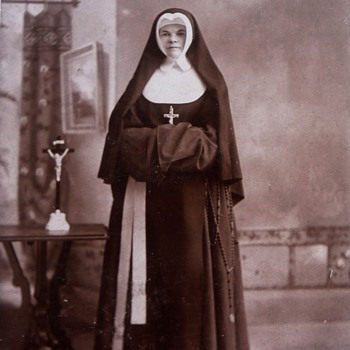 From My Collection of Antique Nun Photographs  - Photographs