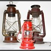 Vintage Farm Barn Lanterns