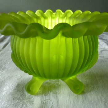 Pretty Dish from Long Ago. - Art Glass