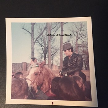 1968 snapshot of Elvis Presley - Photographs