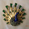 M. Boucher peacock brooch