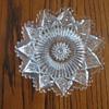 "Hendecagon Cut Glass Plate (6"" across)"