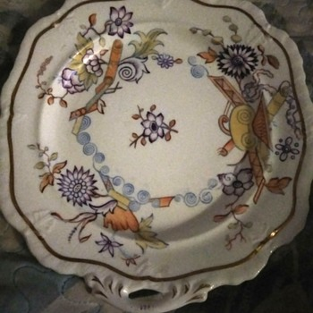 Art Deco Plate - China and Dinnerware