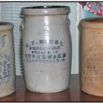 Crocks - Pottery