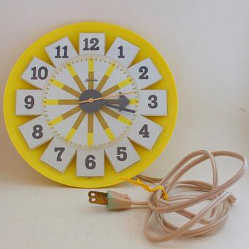 Vintage Sunbeam Wall Clock - Clocks