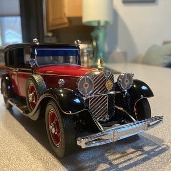 Franklin Mint 1935 Mercedes Benz 770k Grosser (Emperor Hirohito's car)  - Model Cars