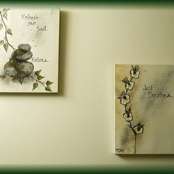 Wall Canvas Pictures -- Inspirational -- RHONDA KULLBERG - Fine Art