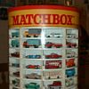 MATCHBOX CARS WITH DISPLAY CASE