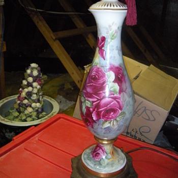 sign rose pattern lamp - Lamps