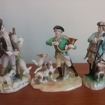 Dresden Thieme hunters with dogs