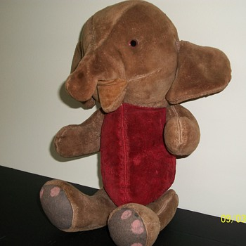 """Elephant 16"""" jointed"""